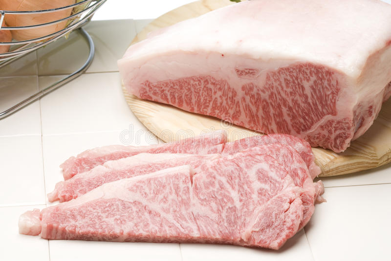 Bifteck de Wagyu images libres de droits