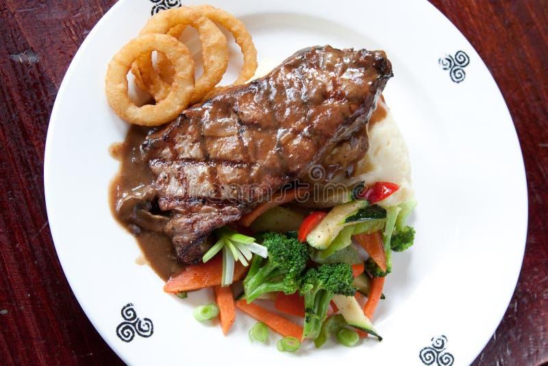 Bifteck gaélique photo libre de droits