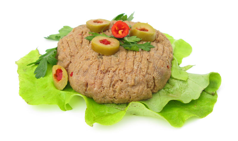 Bifteck tartare photos stock