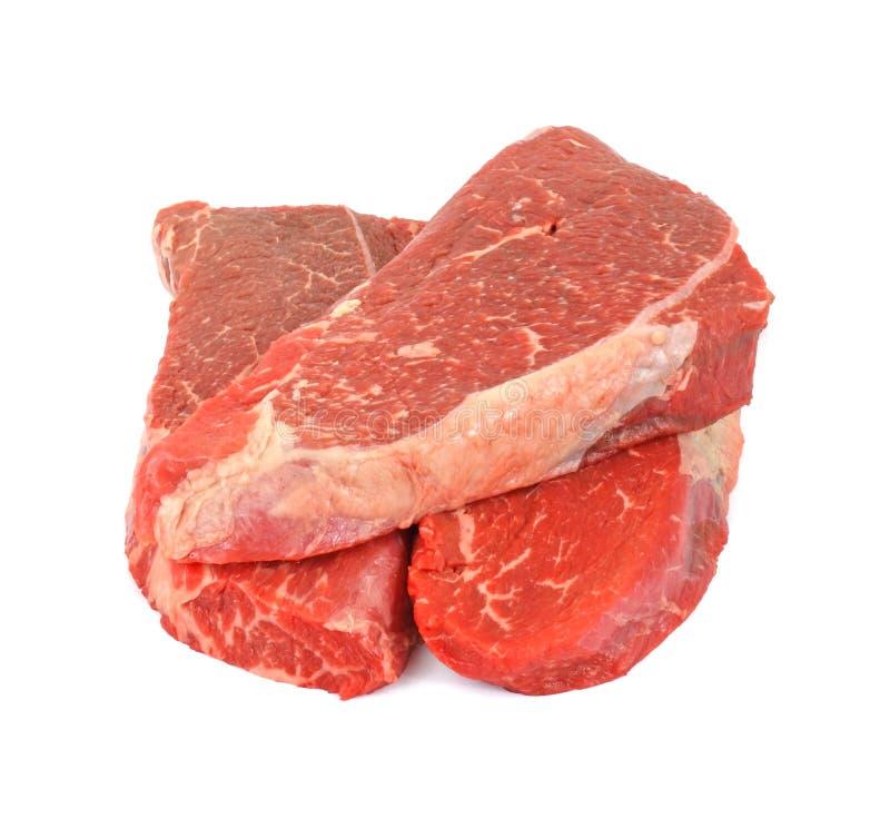 Biftecks d'épaule de mandrin de boeuf photo stock