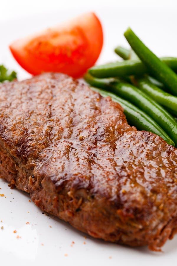 Biftecks grillés photos stock