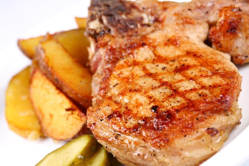 Biftek grillé photo libre de droits