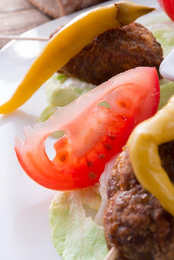 Download Bifteki stock foto. Afbeelding bestaande uit gebraden - 29509740