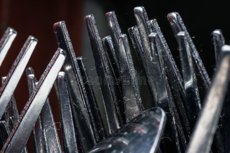 Bifurcaciones del metal fotografía de archivo libre de regalías