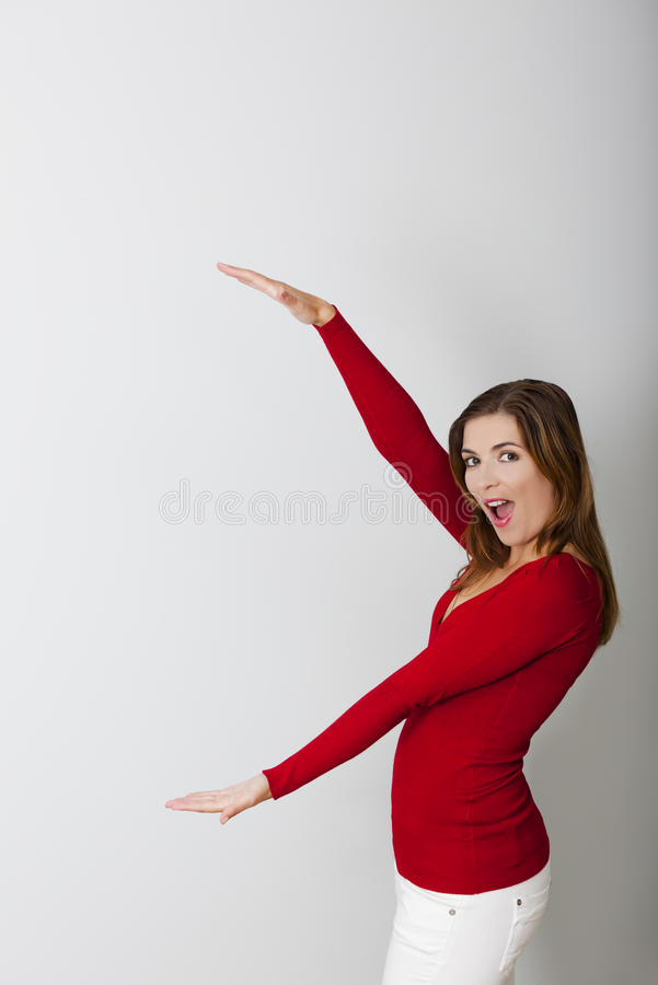 Download This Big stock image. Image of astonished, lovely, casual - 27690953