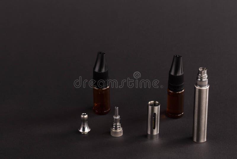 Big advanced electronic cigarette. stock photography