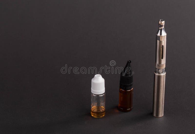 Big advanced electronic cigarette. royalty free stock photo