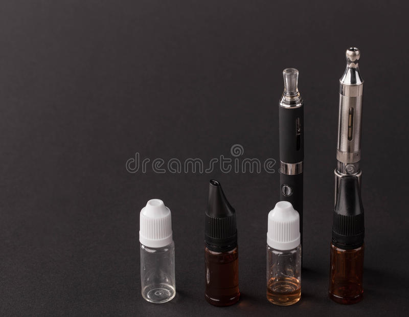 Big advanced electronic cigarette. royalty free stock images