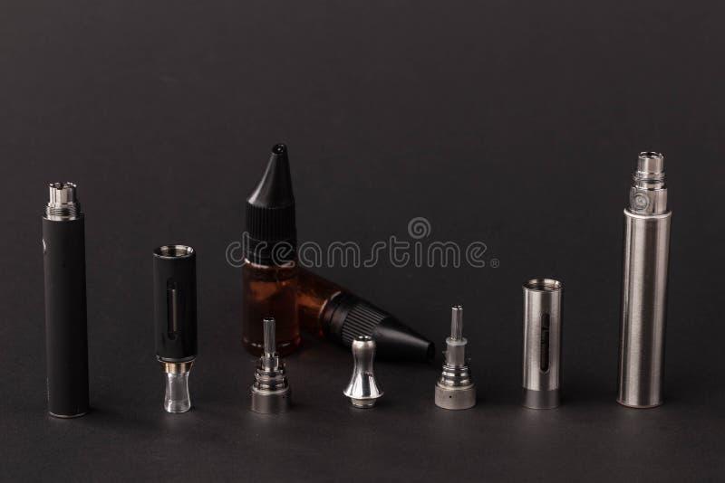 Big advanced electronic cigarette. stock photo