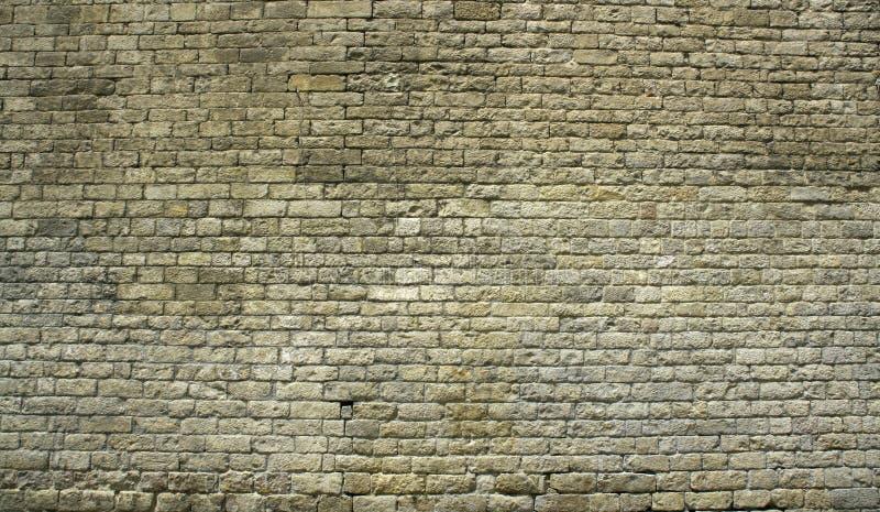 Big ancient brick wall royalty free stock image