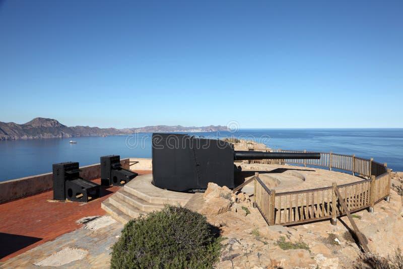 Download Big anti-shipping gun stock photo. Image of cartagena - 24752676