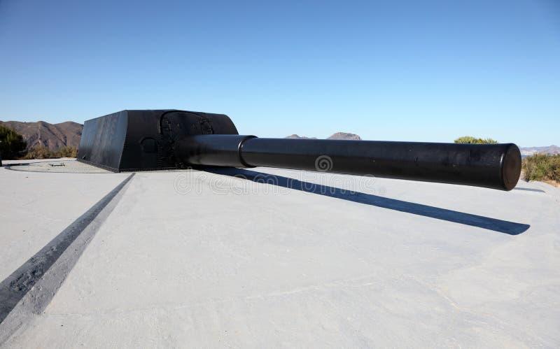 Download Big anti-shipping gun stock photo. Image of black, anti - 24895734