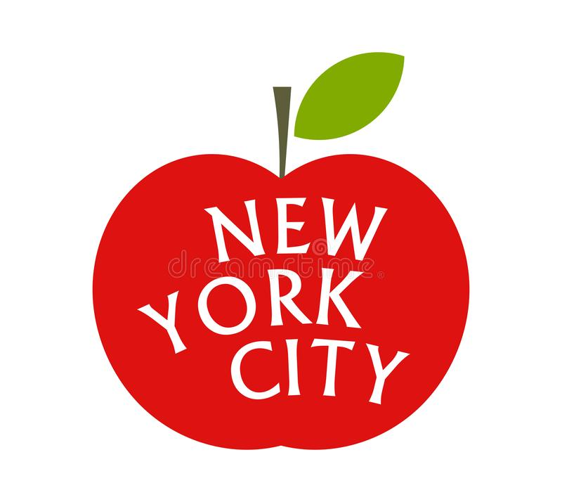 Big Apple New York Stock Illustrations – 633 Big Apple New York ...