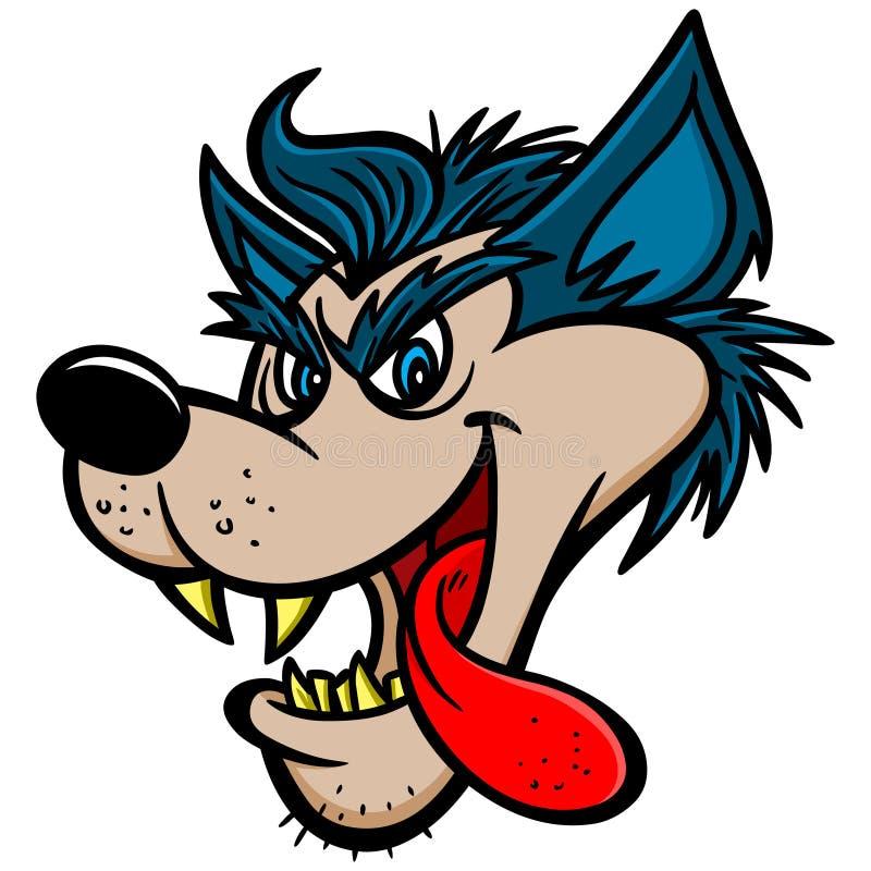 big bad wolf stock vector illustration of roll mane 53668411 rh dreamstime com