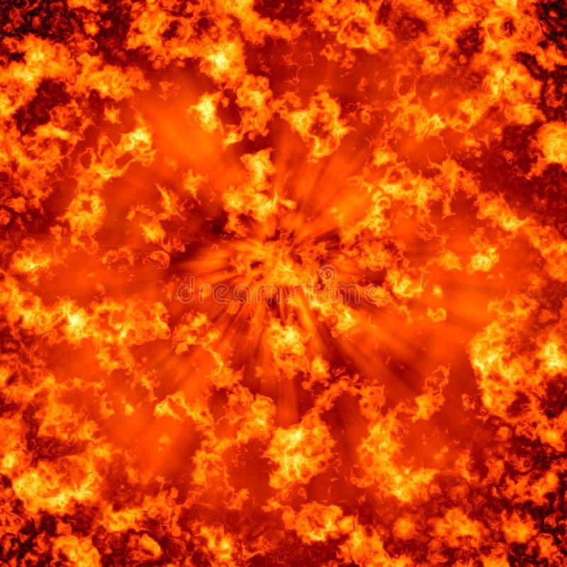 Download Big bang stock illustration. Image of incandescent, flame - 14767069