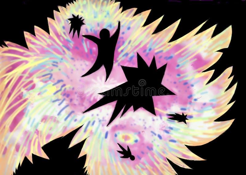 Download Big bang stock illustration. Illustration of flame, concept - 20534042