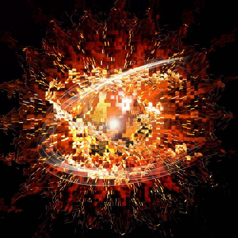 big bang ilustracja wektor