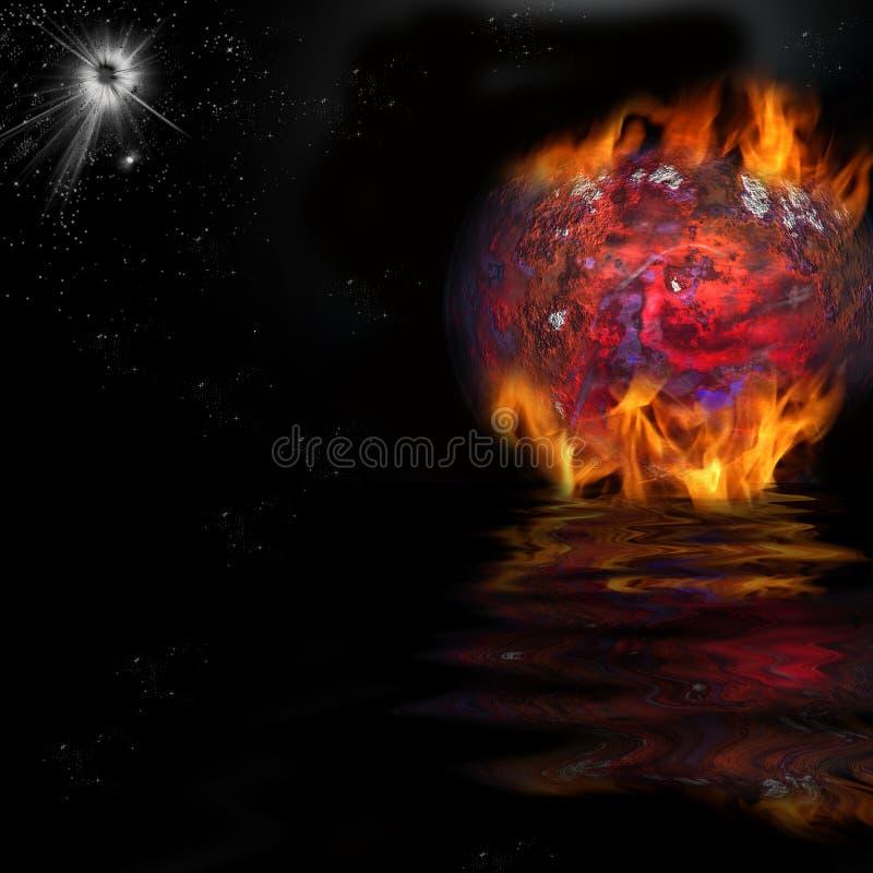 Big Bang stock illustratie