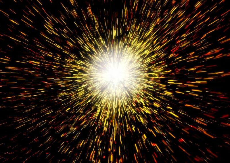 Big Bang stock de ilustración