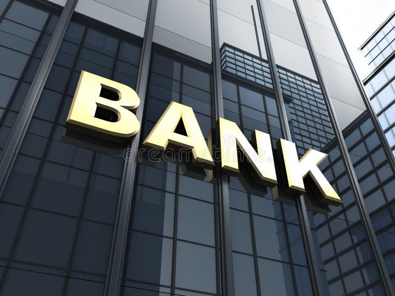 Big Bank vector illustration