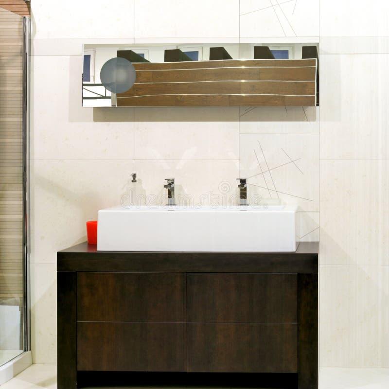 Big bath sink royalty free stock photography