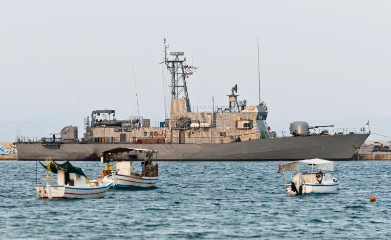 Download Big battle ship stock photo. Image of dock, marine, blue - 23133572