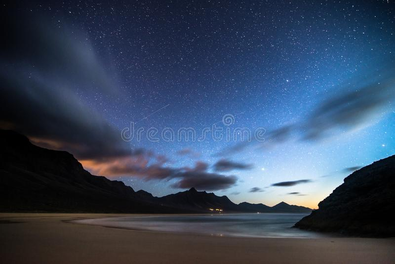 Vía Láctea en plenitud stock images