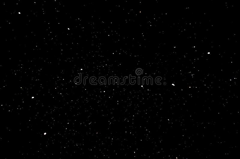 Big Dipper constellation at night vector illustration