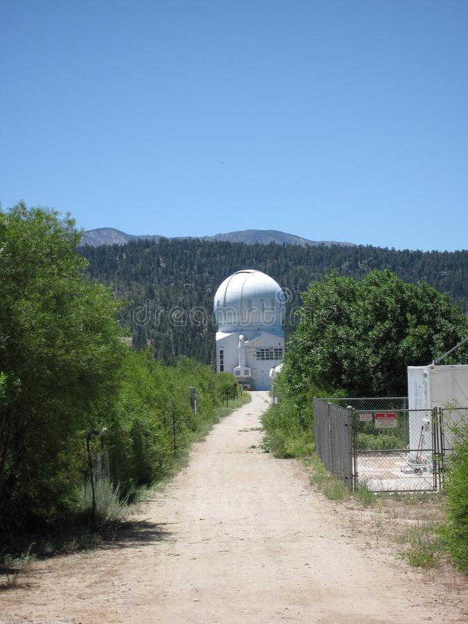 Big Bear den sol- observatoriet royaltyfria bilder
