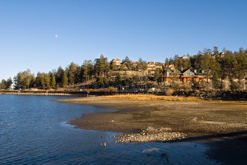 Big Bear Lake scenery stock photo