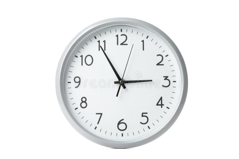 Big beautiful clock isolated. On white background stock photos