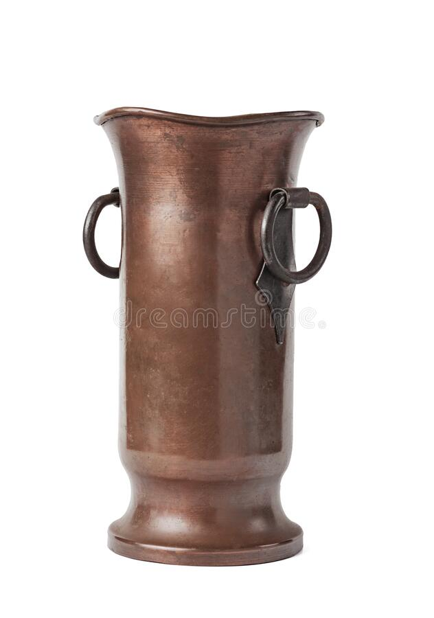 Free Big Beautiful Old Copper Vase Stock Photo - 171793940