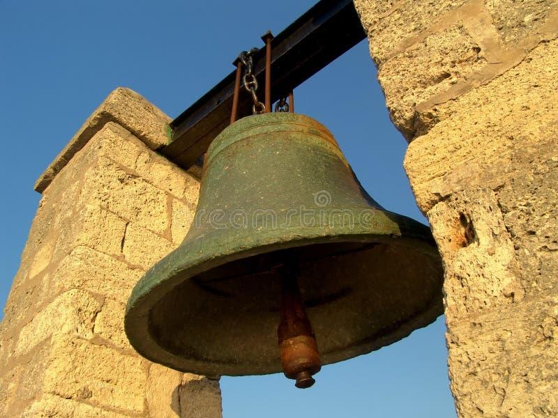 Big bell stock image