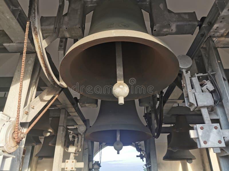 Big Bells of Baclaran Church royalty free stock photos