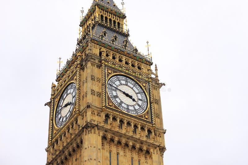 Big Ben à Westminster, Londres image stock