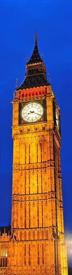 Big Ben - μαγικές νύχτες στο Λονδίνο στοκ εικόνες