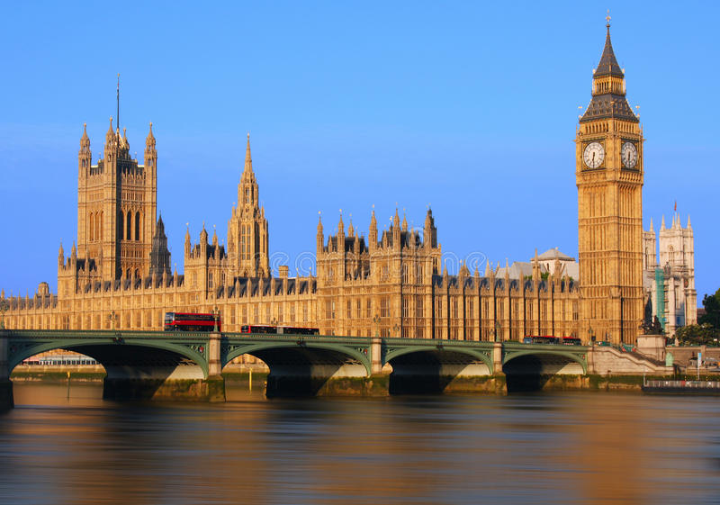 Big Ben στο Λονδίνο στοκ εικόνα