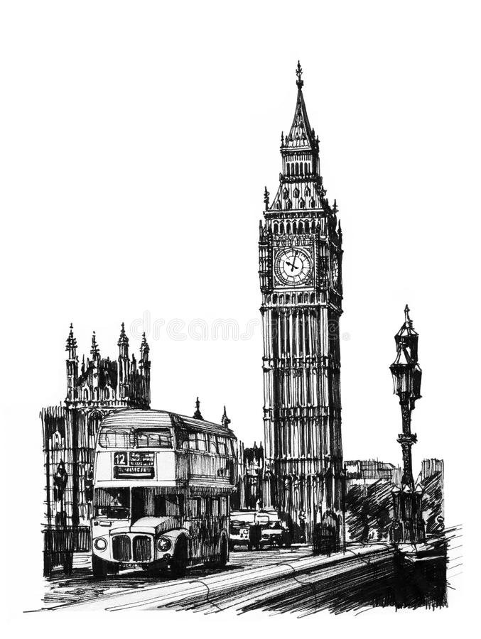 Big Ben vector illustration