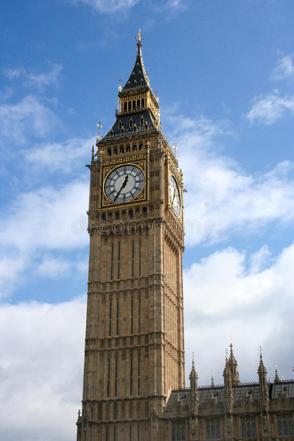 Big Ben. In london city royalty free stock photography