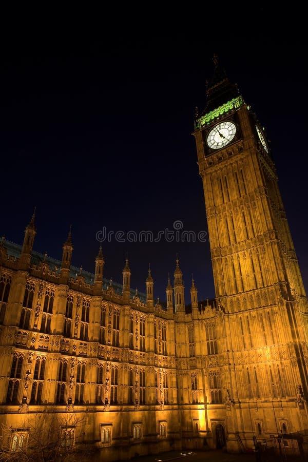 Big Ben #2. Big Ben at night royalty free stock image