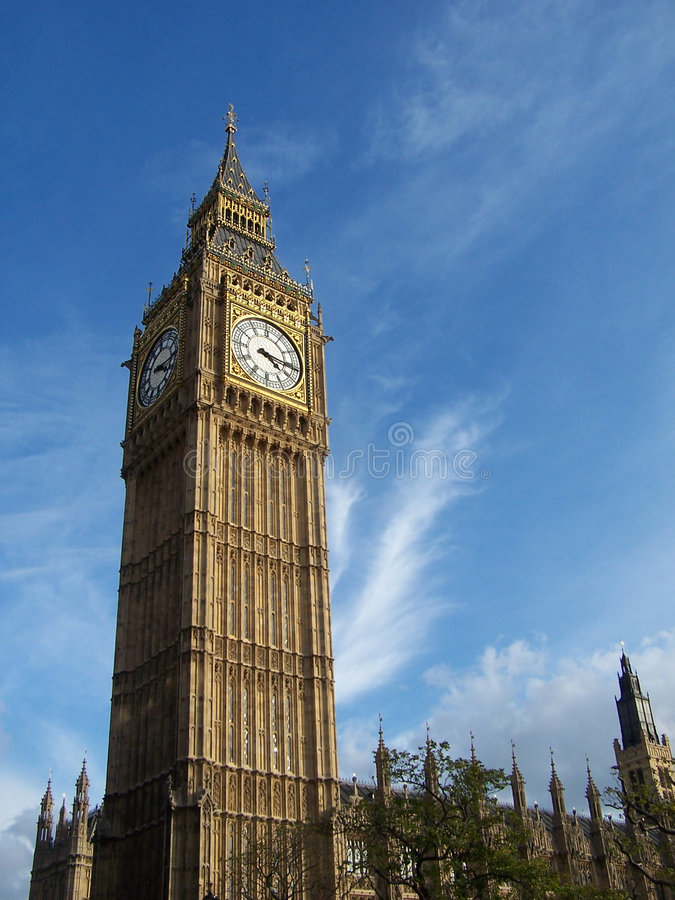 Download Big Ben stock image. Image of vote, history, thames, blue - 205477