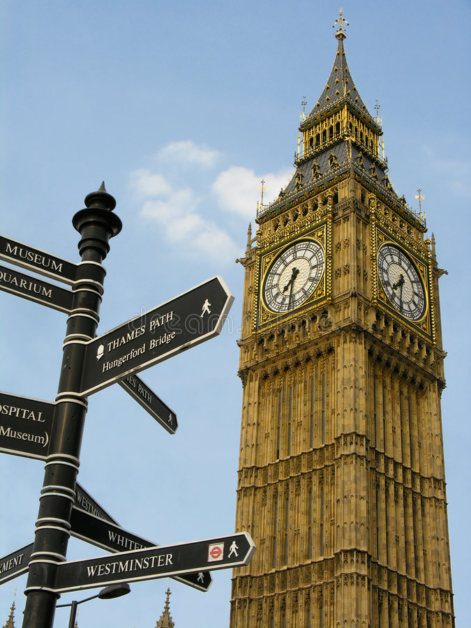 Download Big Ben stock photo. Image of historic, touristic, westminster - 2651086