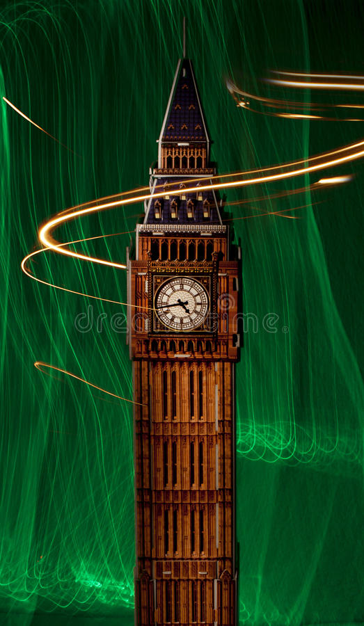 Download Big Ben stock photo. Image of travel, light, united, painted - 26538432
