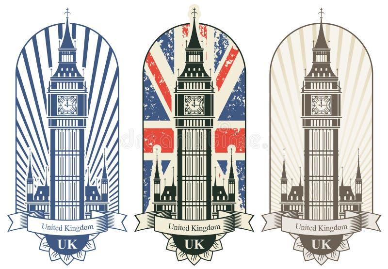 Big Ben ilustração stock