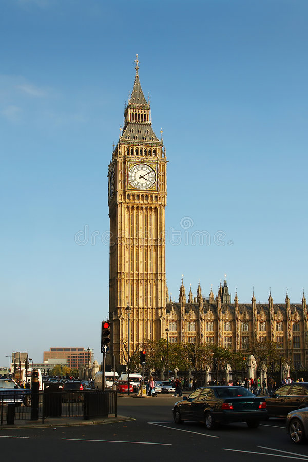 Download The Big Ben stock photo. Image of gothic, aged, tourism - 3448382
