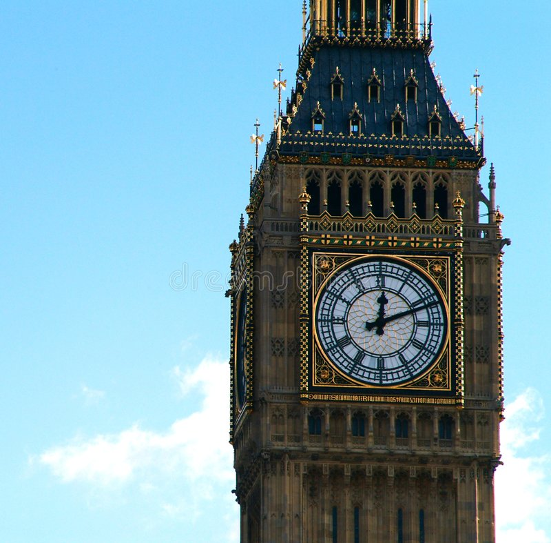 Big Ben lizenzfreie stockfotos