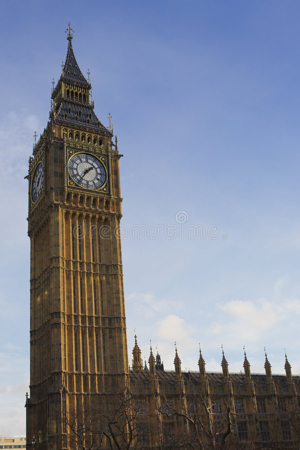 Big Ben #4. Big Ben in the late afternoon royalty free stock photos