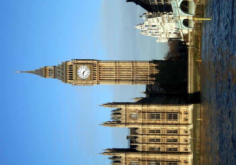 Download Big Ben stock photo. Image of thames, scene, sunny, tourism - 503616