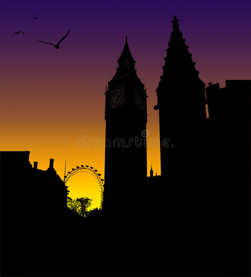 Download Big Ben editorial photo. Image of homes, birds, london - 5044476