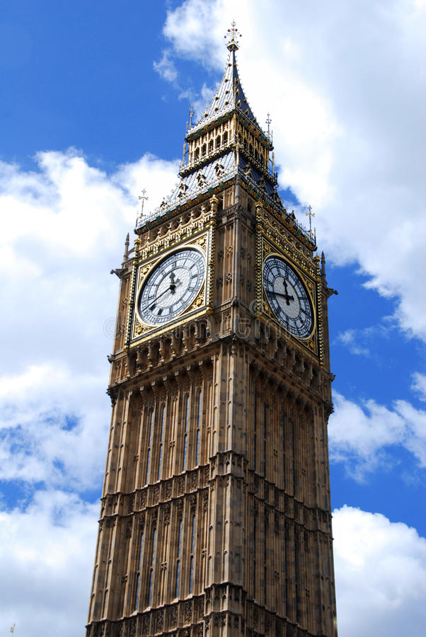 Download Big Ben against the sky stock photo. Image of english - 18246246